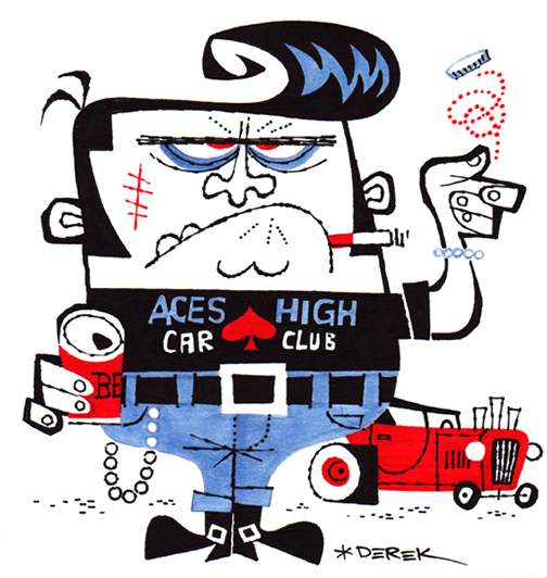 Aces High Car Club by Derek Yaniger