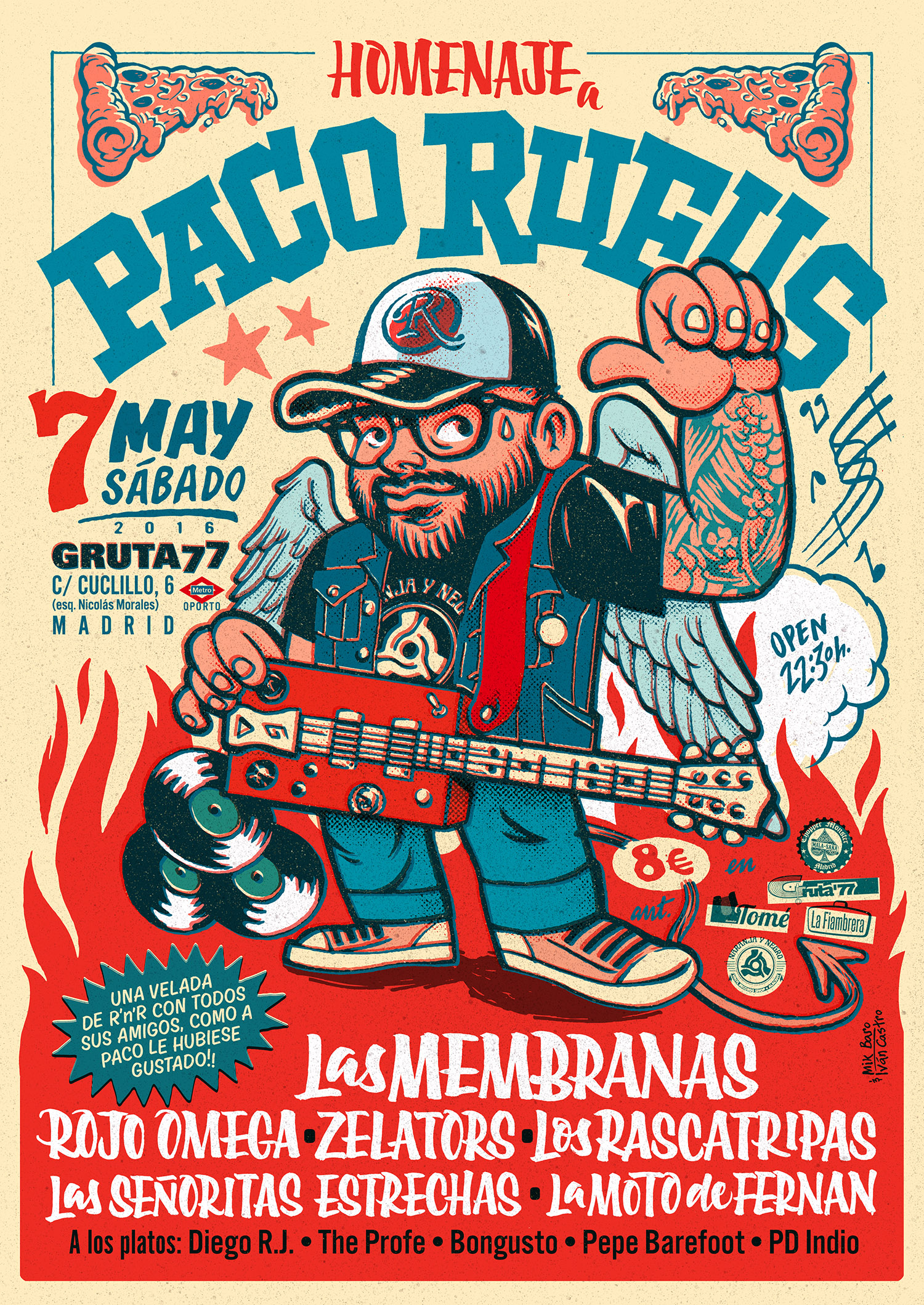 Paco Rufus Poster